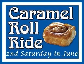 Caramel Roll Ride: 2nd Saturday in June