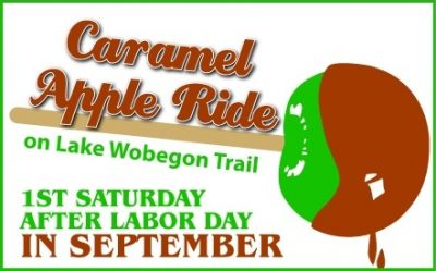 Caramel Apple Ride: 1st Saturday after Labor Day