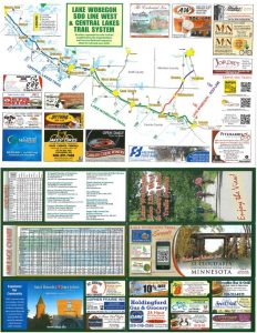 Lake Wobegon Trail - 2 page color map