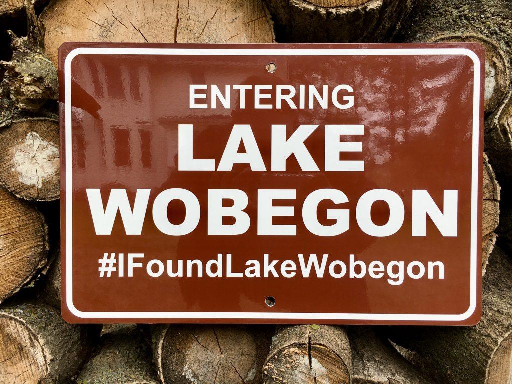 I found Lake Wobegon